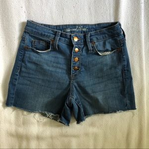 Universal Thread Denim Shorts Button Fly